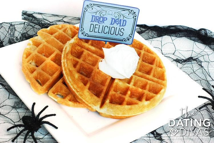 Halloween Breakfast In Bed - Spook Service