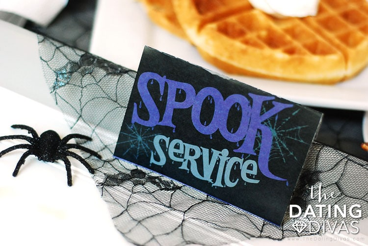 Halloween Breakfast In Bed Tray Tag