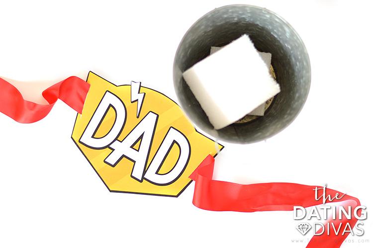 Super Dad Last Minute Candy Bouquet