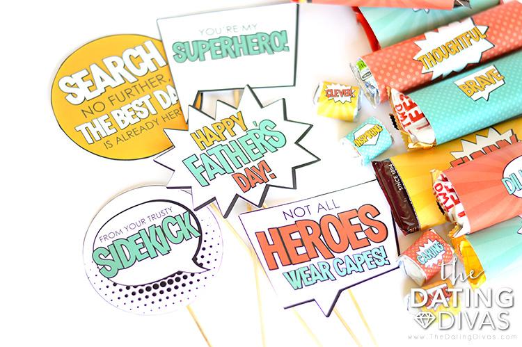 Superhero Father's Day Gift Basket Ideas for Men