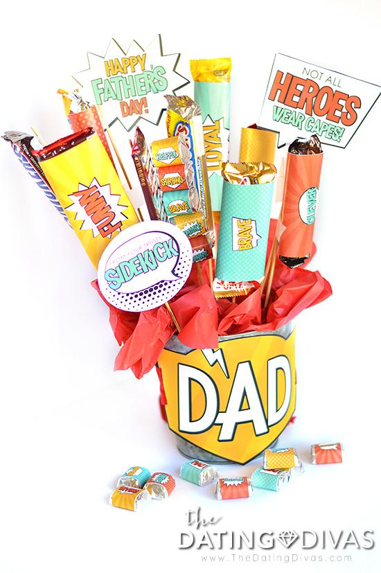 Superhero Father's Day Ideas