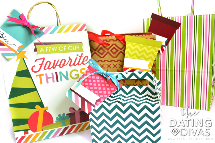Couple's Favorite Things Party Gifts and Tags