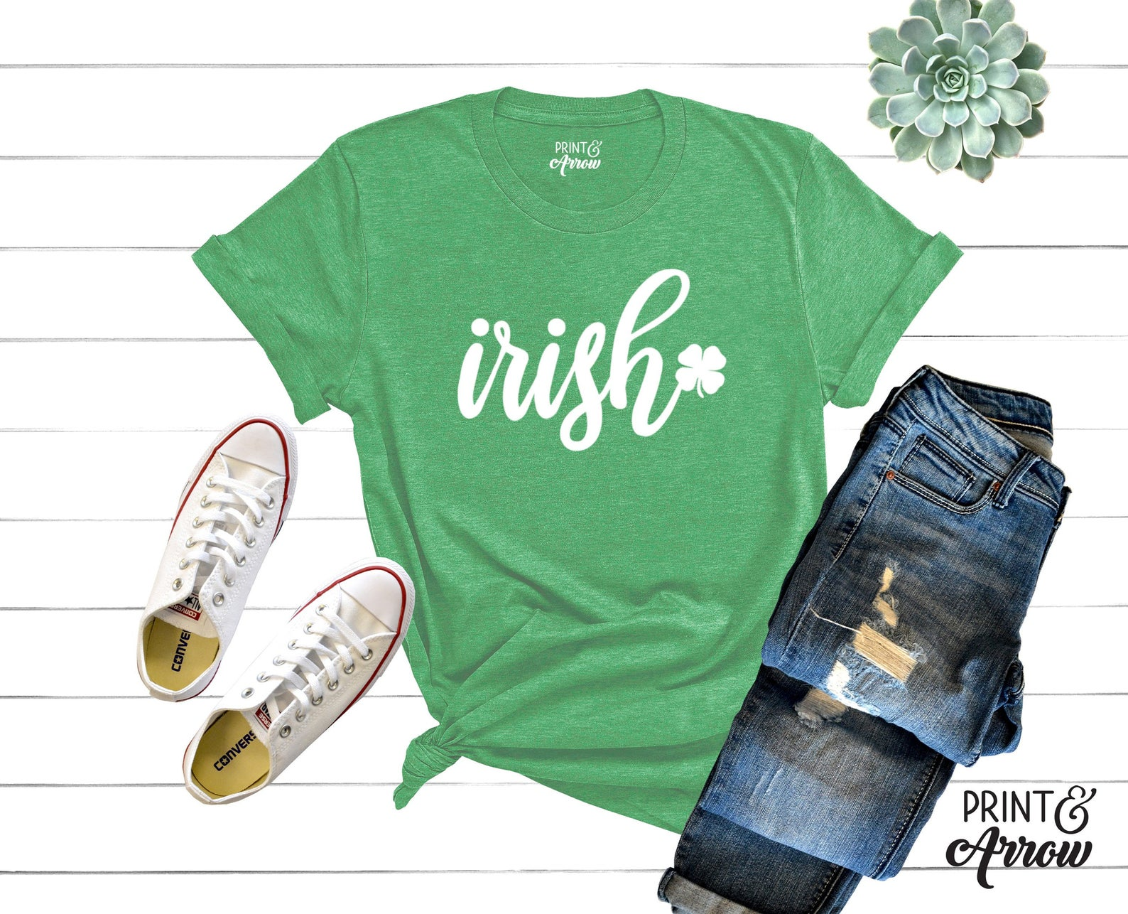 A cute Irish shirt you can find on Etsy!
