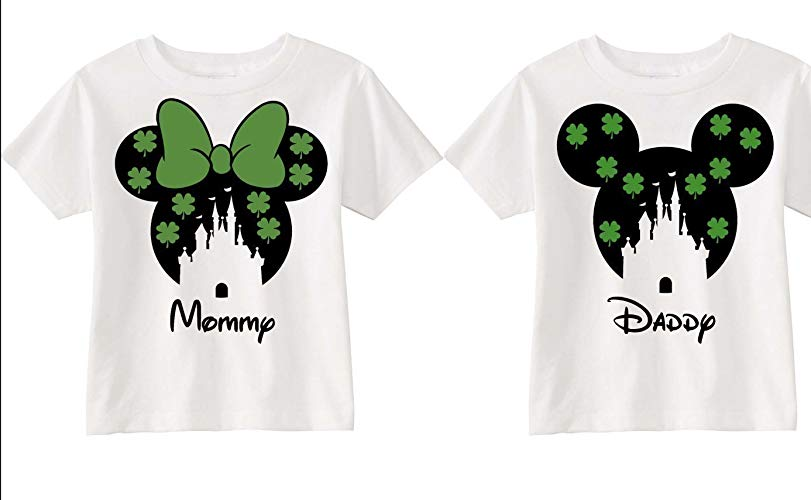 The best St. Patrick's Day shirts for Disney lovers!