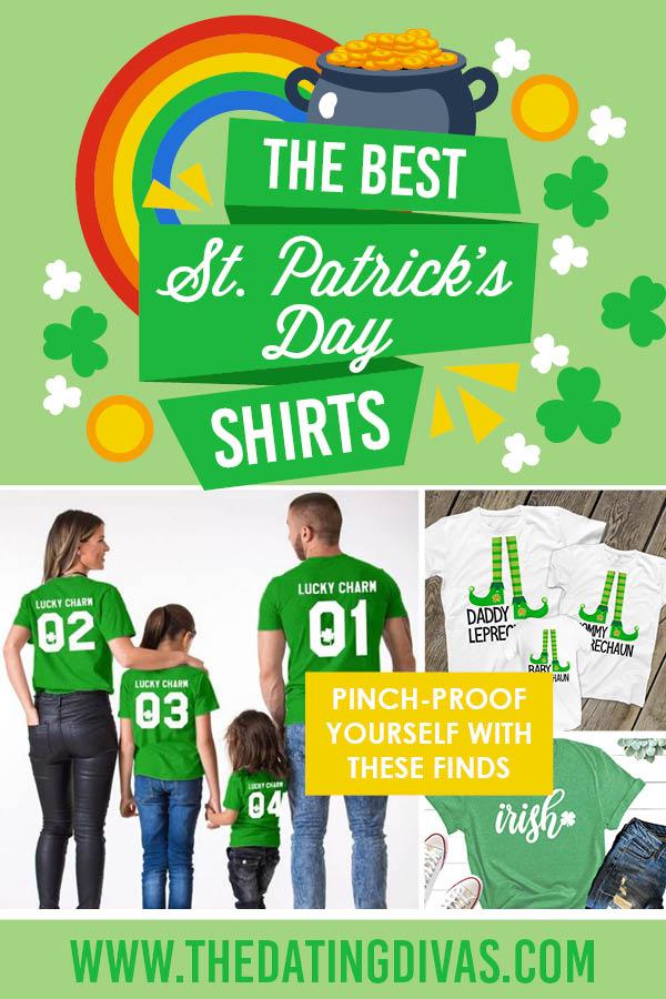 St. Patrick's Day shirts are my favorite seasonal clothing item! I'm excited for matching ones this year. #StPatricksDayShirts #StPattysDayShirts