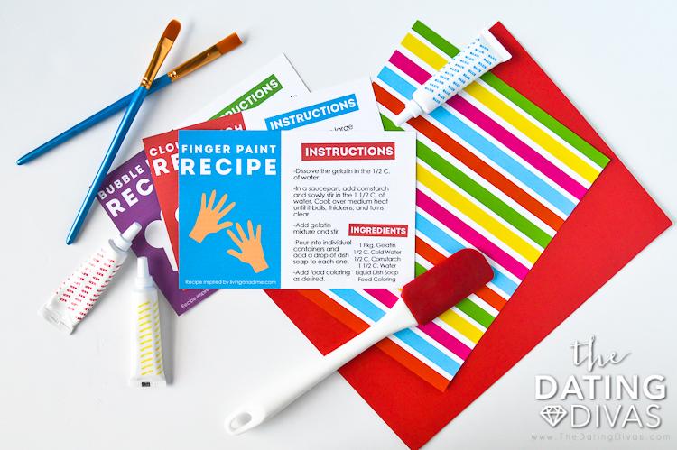 DIY Playdough and Finger Paint Recipe