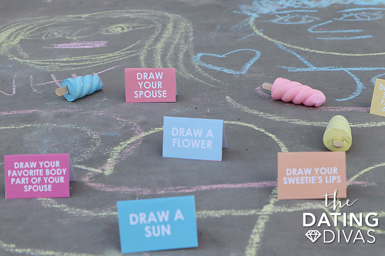 Ideas for What to Draw with Chalk | The Dating Divas