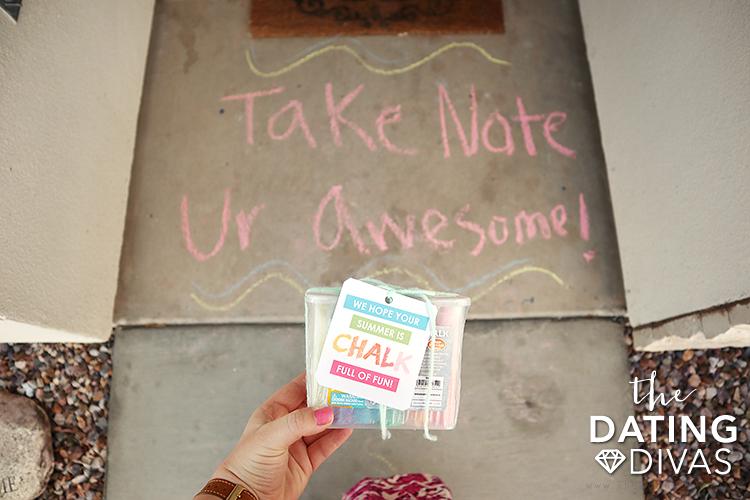 Service Sidewalk Chalk Ideas | The Dating Divas